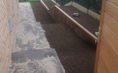 Romain tuin- en klinkerwerken - Keerwanden